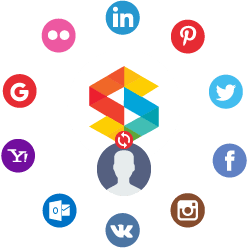 Social Connect & Profile Sync Extension - Facebook, LinkedIn, Twitter and Instagram