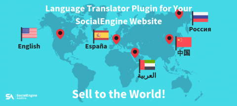 How SocialEngine website with Multiple Languages Plugin can help you Diversify Market & Increase Sales?