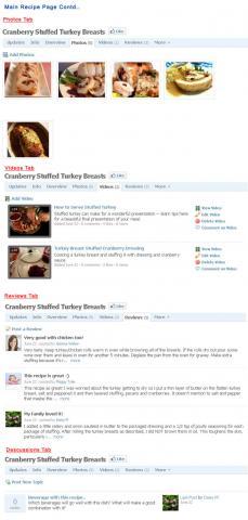 Main Recipe Page Contd..