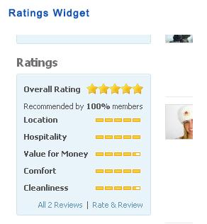Ratings Widget