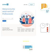 LinkedIn Clone Package