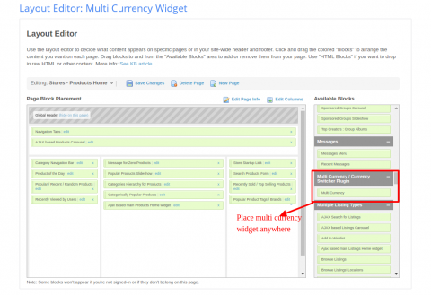 Multi Currency Feature at Subscription Page
