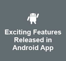 Exciting Features Released in Android App: Shimmering Effect, Image Compression, Add Friend Widget and a few more!