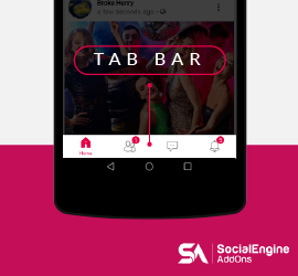 Enhanced User Experience in new update of Android Mobile App for SocialEngine