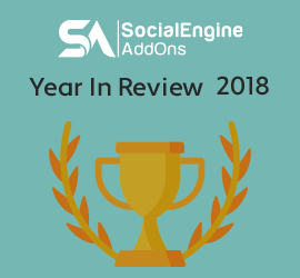 SocialEngineAddOns 2018 CountUp - Releases & Achievements !