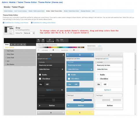 Admin: Mobile / Tablet Theme Editor: Theme Roller (theme.css)