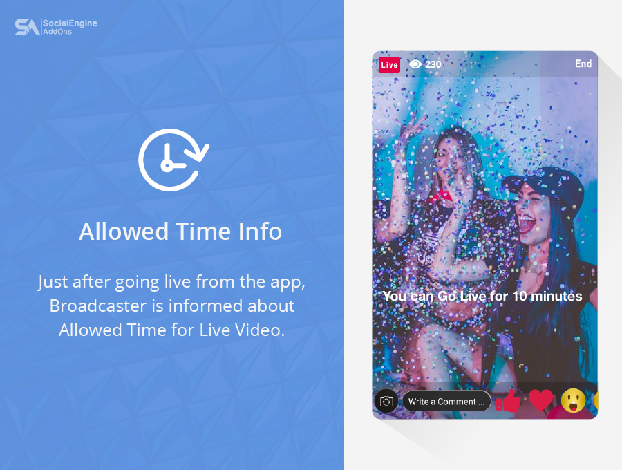 Live Broadcasting / Streaming for iOS and Android Mobile Apps for