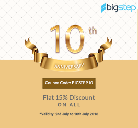 Celebrating our 10th Anniversary: Discount and Looking at the Year gone-by