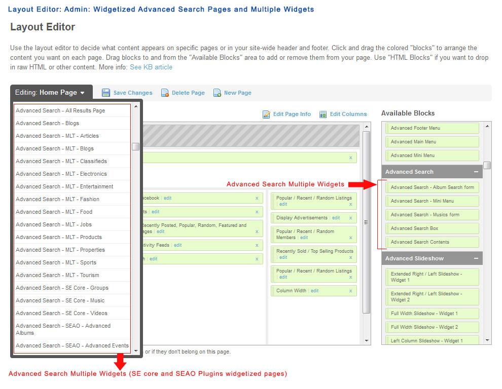 Advanced Search Plugin | SocialEngineAddOns