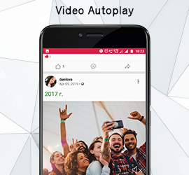 New Release: Video Autoplay in Android App & Last 2 days for 30% discount