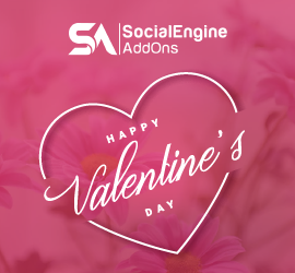 SocialEngineAddOns Cherish This Valentine with 20% Discount on Everything!